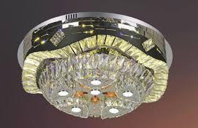 Đèn Mâm Tròn Pha Lê Led ML119873