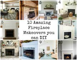 fireplace makeovers you can diy