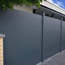 Black Composite Fence Panels Composite Fence Panels