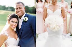 NFL Linebacker Weds College Sweetheart in Romantic Austin Wedding by Brock  + Co. Events
