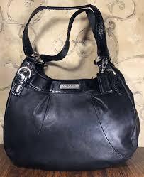 leather flap buckle shoulder bag purse