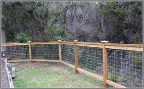 Hog Wire Fence Cheap Chicken Coop Ideas Cattle Panel Fence Backyard Fences Fence Design