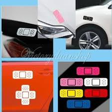 Universal Car Vehicle Funny Bandage Band Aid Vinyl Sticker Decal 3 Colors New Archives Midweek Com