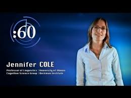 60-Second Science: Jennifer Cole on Speech Processing and ...