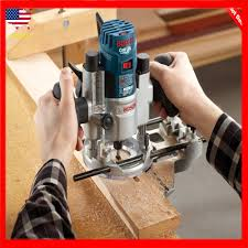 Power Garden Hand Tools Router Accessories Bosch Deluxe Router Edge Guide With Dust Extraction Hood Vacuum Hose Adapter Ra1054 Diy Tools Power Garden Hand Tools