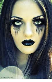 goth makeup ideas for images
