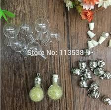 50pcs vial pendants small vials