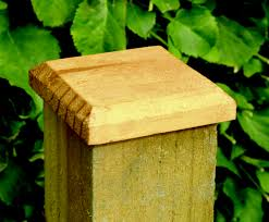 Fence Post Cap 125 X 125mm Pressure Treated Green Timber