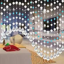 clearance curtain crystal glass bead