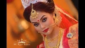 bengali bridal makeup air brush