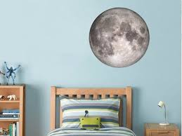 Moon Decal Vinyl Poster Full Moon Decal Moon Sticker Moon Wall Etsy Moon Decal Moon Wall Decal Vinyl Poster