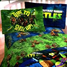 teenage mutant ninja turtles twin sheet