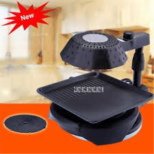 3d infrared electric barbecue oven bq