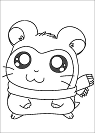 Index Of Coloriages Heros Tv Hamtaro Petits Hamsters