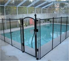 Get A Child Safety Pool Fence Installed Mesh Childproof Pool Fences