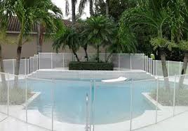 White Swimming Pool Fences Baby Guard Pool Fence In 2020 Pool Fence Swimming Pools Mesh Pool Fence
