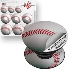 Decal Style Vinyl Skin Wrap 3 Pack For Popsockets Baseball Popsocket Not Included By Wraptorskinz Walmart Com Walmart Com
