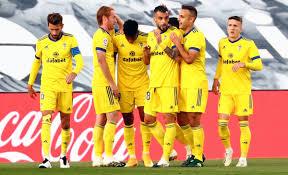 PIX: Real Madrid, Barcelona suffer shock defeats in La Liga - Rediff Sports