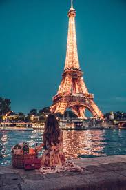 Picnic At Eiffel Tower Paris At Night Paris Photography Eiffel