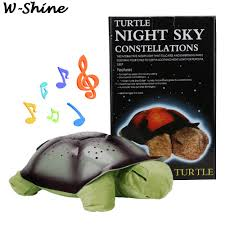 Turtle Night Light Projector Stars Moon Night Lamps For Kids Bedroom Cute Plush Animals Colorful Nightlight Projector Luminous Buy At The Price Of 9 36 In Aliexpress Com Imall Com