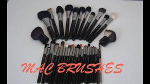 mac makeup brushes collection
