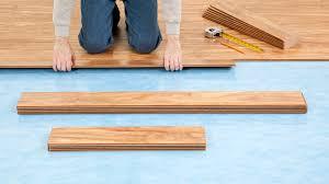 installing laminate flooring with