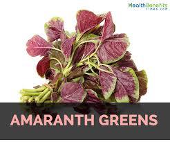 amaranth greens facts health benefits
