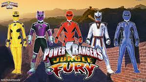 free power rangers jungle fury