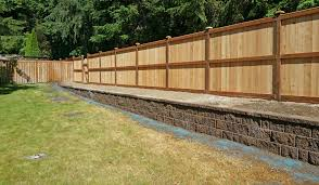 Lacey Retaining Wall And Privacy Fence Ajb Landscaping Fence