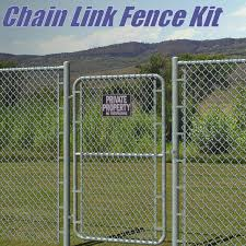 Chain Link Fence Kit