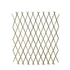 36 In H Expandable Bamboo Poles Trellis Yellows Golds Bamboo Trellis Bamboo Poles Trellis