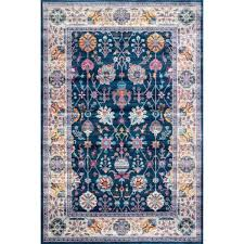 nuloom classic tinted fl blue 5 ft