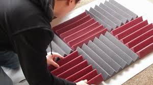 diy acoustic foam panel tutorial