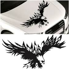Car Accessories Flying Eagle Hood Decal Graphic Sticker For Truck Car Trailer Ebay