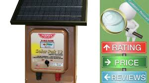 Parmak Magnum Solar Pak 12 Low Impedance 12 Volt Battery Operated 30 Mile Range Electric Fence Youtube