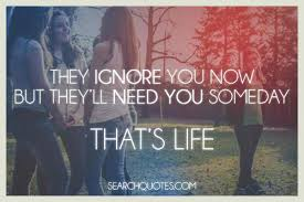 it s all about quotes do not ignore someone