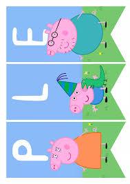 Pagina 13 De 17 Fiesta De Cumpleanos De Peppa Pig Cartel Feliz