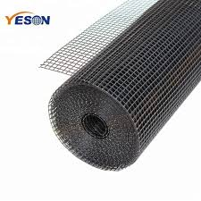 Yeson High Quality Plastic Fence Panel Black Pvc Coated Welded Wire Mesh Rolls Buy 1x2 Black Pvc Coated Welded Wire Mesh Plastic Fence Panel Welded Wire Mesh Roll Product On Alibaba Com