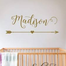 Amazon Com Name Wall Stickers Decal Personalized Decal Removable Wall Decal Sticker Surface Inspired 1044 Handmade