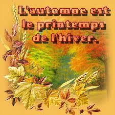 citation : l'automne