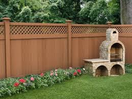 Brown Wooden Fence Color Idea 2020 Ideas