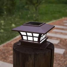 Solar Powered Fence Post Cap Led Light Next Deal Shop Uk