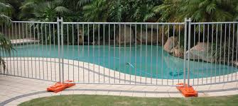 Temporary Pool Fencing As Barriers For Spa And Pool