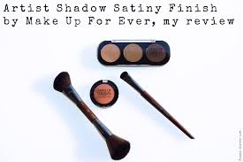 artist shadow satiny finish by make up