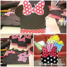 a gorgeous diy minnie mouse themed