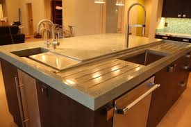 recycled glass tile countertops