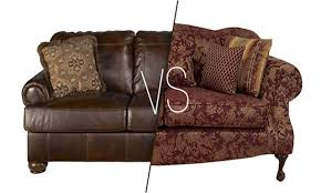 leather sofas vs fabric pros and cons