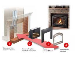 fireplace inserts hugh showroom at