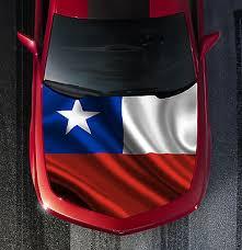 H62 Texas Flag Hood Wrap Wraps Decal Sticker Tint Vinyl Image Graphic Ebay