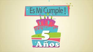 Video Invitacion Cumpleanos Invitation Card Happy Colors